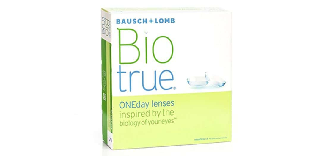 Lentilles de contact BioTrue 1 Day 90L