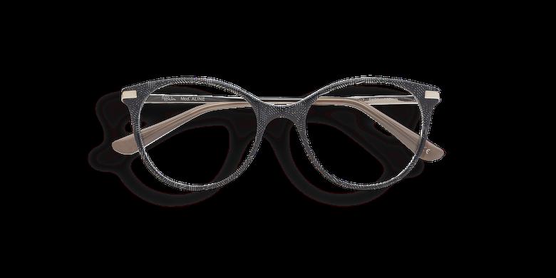 4e105f0fc Óculos graduados criança ALINE preto preto ...