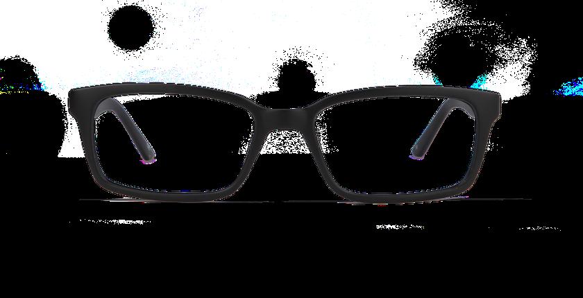 Lunettes de vue homme YAEL noir - vue de face