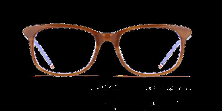 Óculos graduados senhora MARJOLAINE castanho/violeta