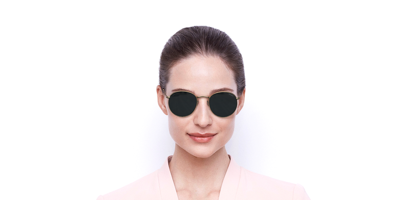 Óculos de sol MAURI GD POLARIZED dourado