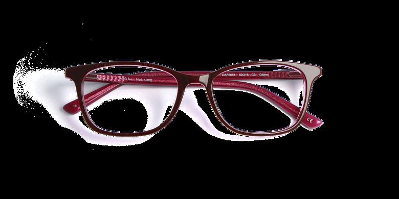 Óculos graduados senhora AUDE vermelho