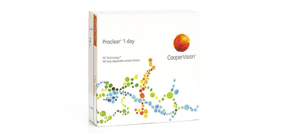 Lentes de contacto Proclear® 1day 90L