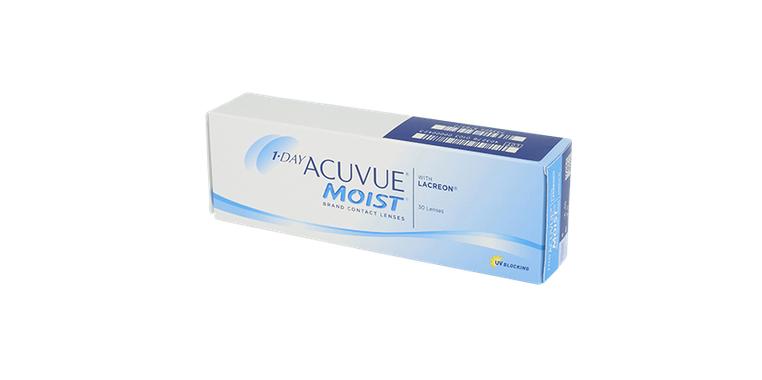 Lentilles de contact 1 Day Acuvue Moist 30L