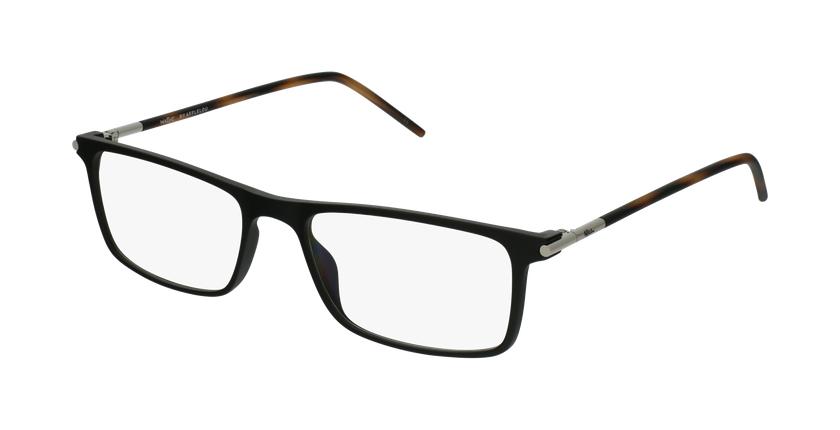 Óculos graduados homem MAGIC 72 BK preto/tartaruga  - vue de 3/4