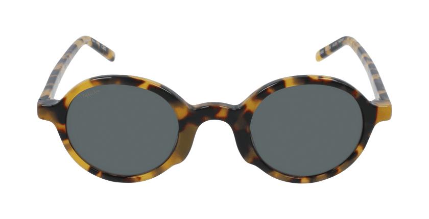 Óculos de sol JAMIE HV tartaruga  - Vista de frente