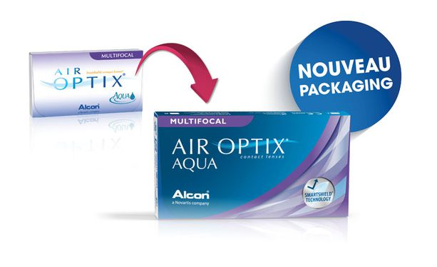 6d6181bd6b Lentes de contacto Air Optix Aqua Multifocal 6L - Vista de frente ...
