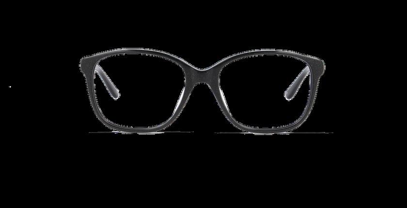 Lunettes de vue femme LAPIS noir - Vue de face