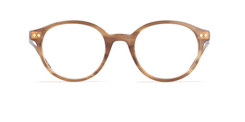 Óculos graduados homem LIMBA castanho