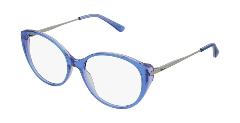 Óculos graduados senhora LIVIA BL (TCHIN-TCHIN +1€) azul - vue de 3/4