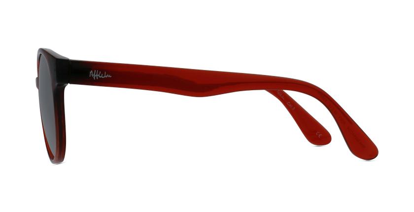 Óculos de sol criança MANACOR RD vermelho - Vista lateral