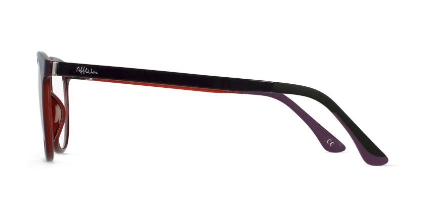 Lunettes de vue femme MAGIC 36 BLUEBLOCK violet/rose - Vue de côté
