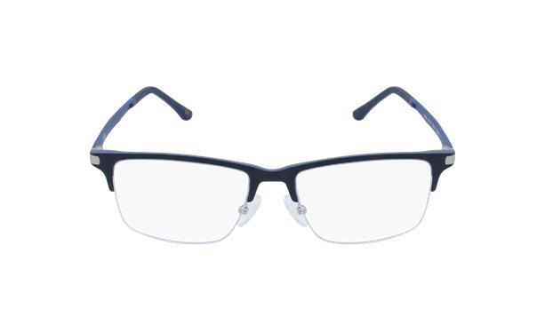 Lunettes de vue homme MAGIC 56 bleu - Vue de face