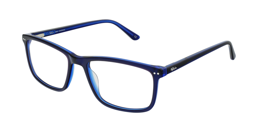 Óculos graduados homem GWENDAL BL (TCHIN-TCHIN +1€) azul - vue de 3/4