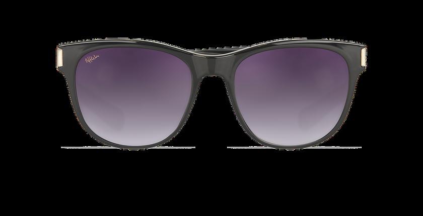 0b6e69e784c47 ... Óculos de sol senhora LORENA preto - Vista de frente ...