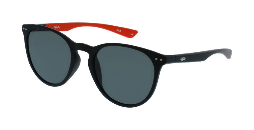 Óculos de sol BARTH POLARIZED BKRD preto/vermelho - vue de 3/4
