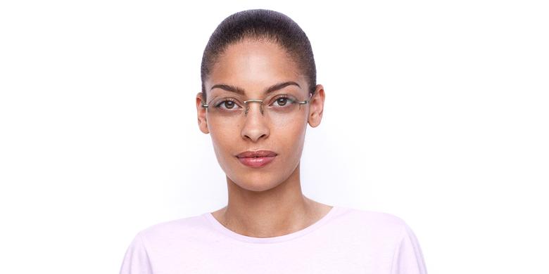 Óculos graduados senhora LAM PK (TCHIN-TCHIN +1€) rosa/dourado