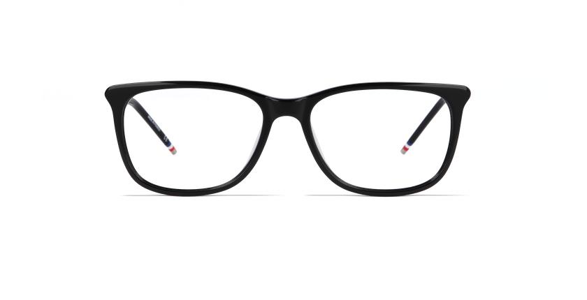 Óculos graduados senhora YLANG preto - Vista de frente