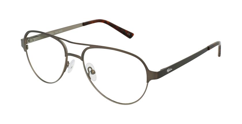 Gafas graduadas NAEL gris/plateado - vue de 3/4