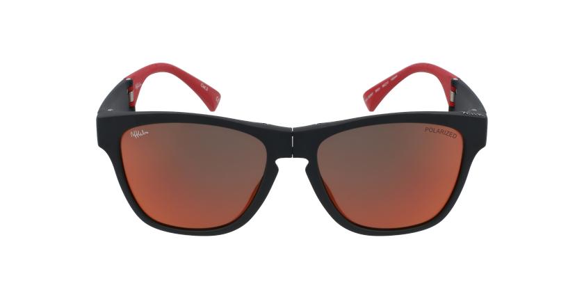 Óculos de sol homem GEANT BK preto/vermelho - Vista de frente