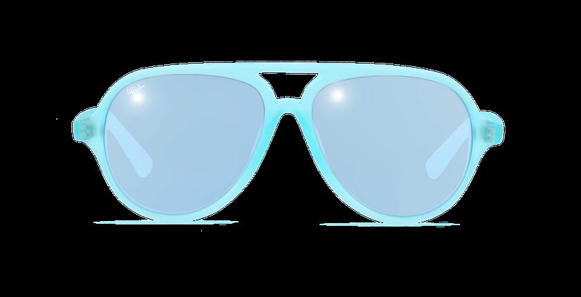Gafas de sol niños RONDA verde - vista de frente