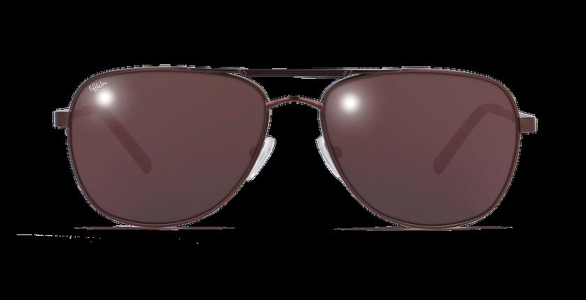 Gafas de sol hombre CESAR marrón - vista de frente