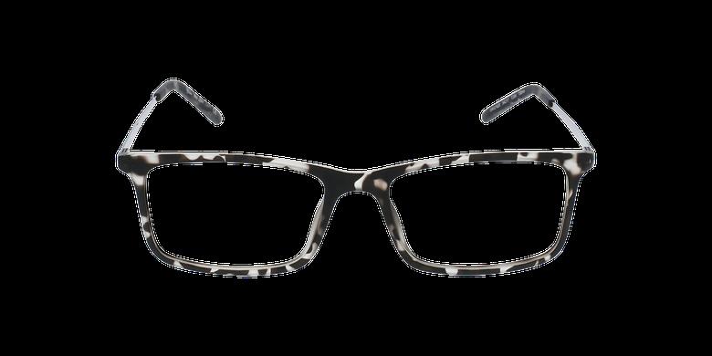 Lunettes de vue homme LENY écaille/noirVue de face