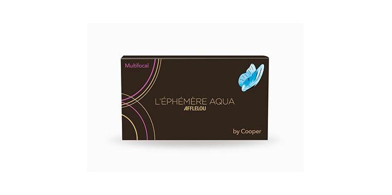 Lentilles de contact Ephémère Aqua Mensuelle Multifocal 6L