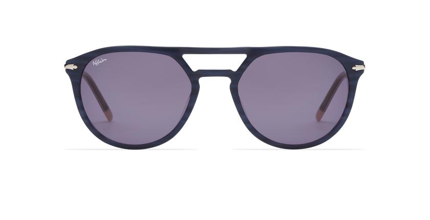 Óculos de sol homem MALTON BL azul/prateado - Vista de frente