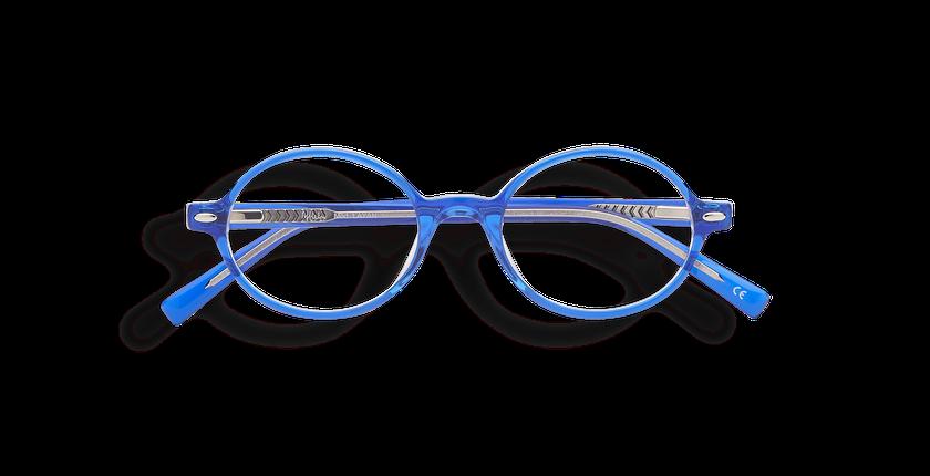 c9c24ff16 ... Óculos graduados criança LAYAN azul azul - Vista de frente ...