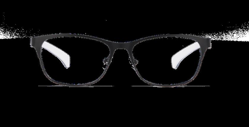 Lunettes de vue femme CALVIN KLEIN JEANS noir - vue de face