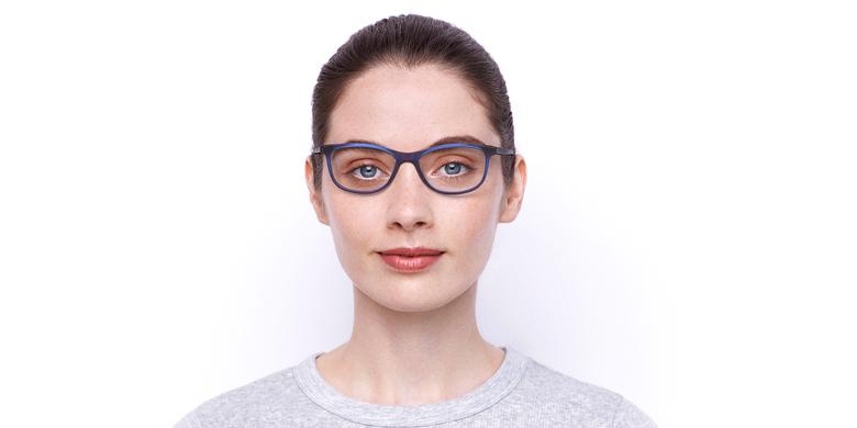 Lunettes de vue femme SOLINE violet