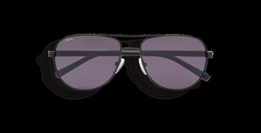 Gafas de sol hombre TAO negro - vista de frente