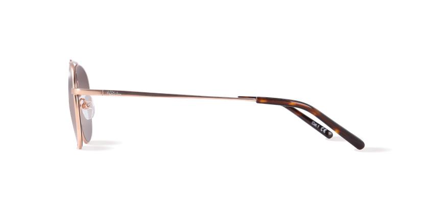 Óculos de sol homem NOAM dourado - Vista lateral