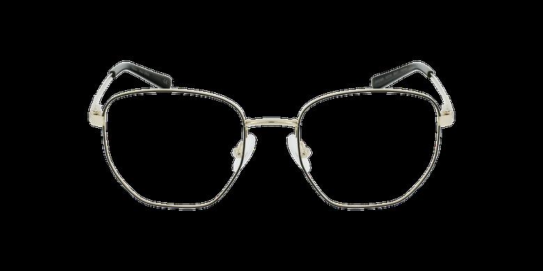 Óculos graduados senhora ERIN BK (TCHIN-TCHIN +1€) preto/dourado