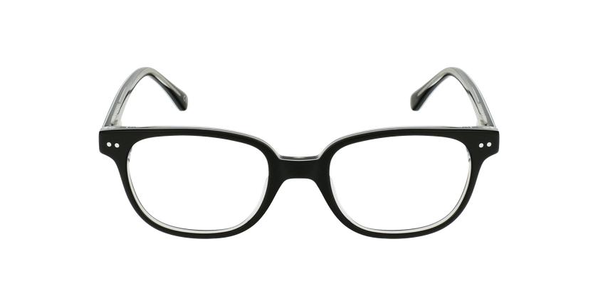 Óculos graduados criança MARCEL BK (TCHIN-TCHIN +1€) preto - Vista de frente