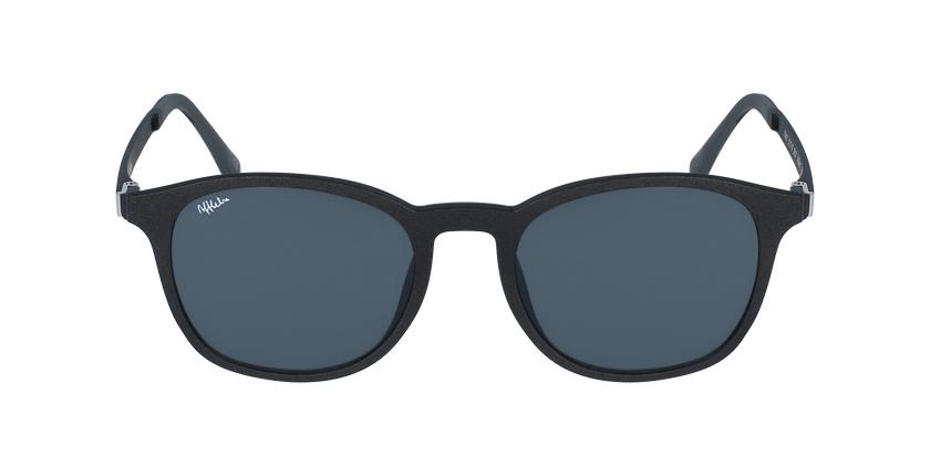 Óculos graduados homem MAGIC 25 BK BLUEBLOCK - BLOQUEIO LUZ AZUL preto - Vista de frente