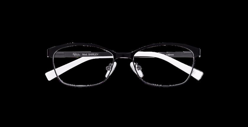 Gafas graduadas mujer SHIRLEY negro - vista de frente