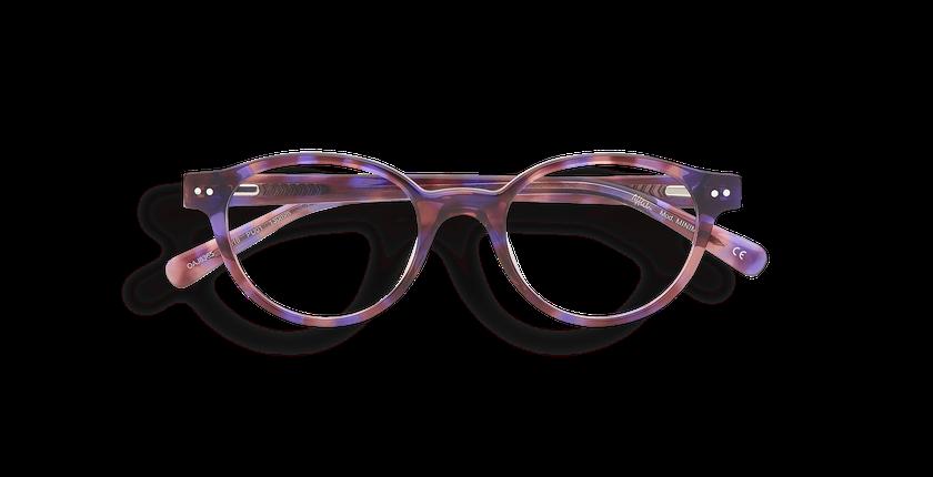 Gafas graduadas niños MINIMI morado/carey - vista de frente
