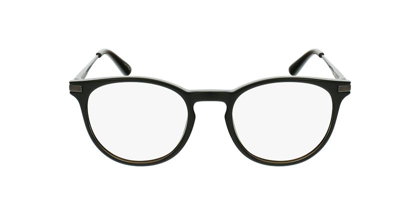 Óculos graduados criança ANTONIN BK (TCHIN-TCHIN +1€) preto/prateado - Vista de frente