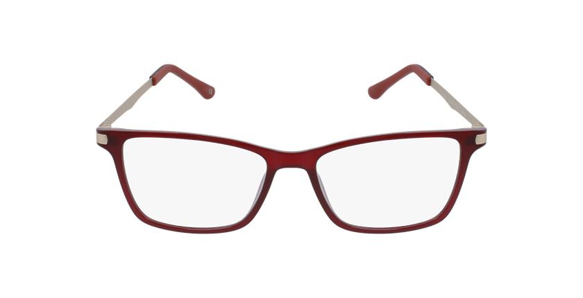 Óculos graduados senhora MAGIC 61 BLUEBLOCK - BLOQUEIO LUZ AZUL vermelho - Vista de frente