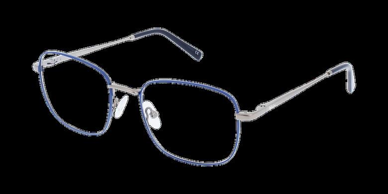 Lunettes de vue homme RENALD bleu/gris