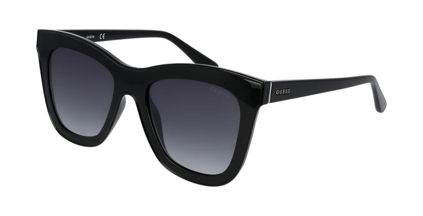 Gafas de sol mujer GU7526 negro - vue de 3/4