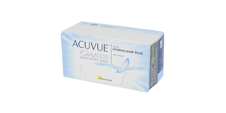 Lentilles de contact Acuvue Oasys with Hydraclear Plus 24L