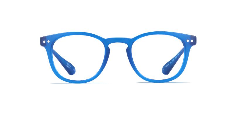 Óculos graduados BLUEBLOCK MIX (H/M) azul - Vista de frente