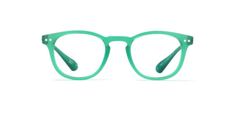 Óculos graduados BLUEBLOCK MIX (H/M) verde - Vista de frente