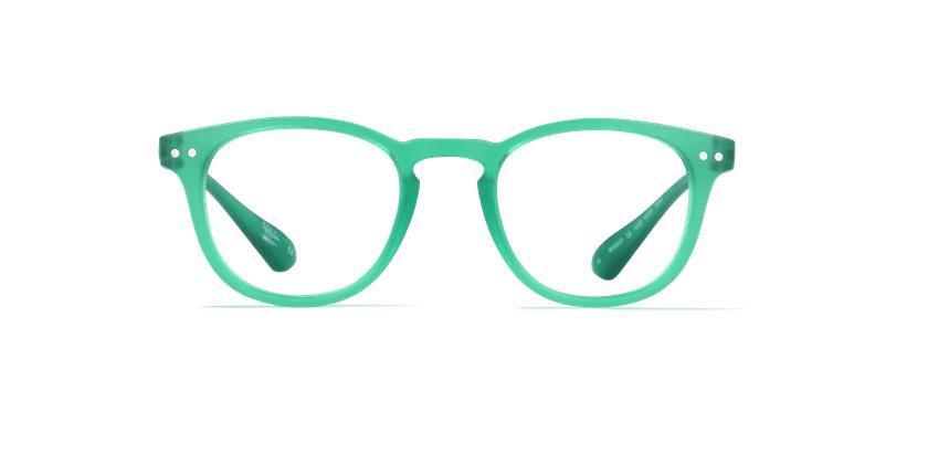 Óculos graduados MOD01P verde - Vista de frente