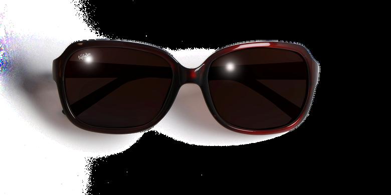Gafas de sol mujer CAROLINA rojo