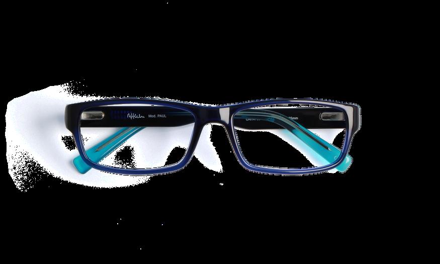 Lunettes de vue homme PAUL bleu