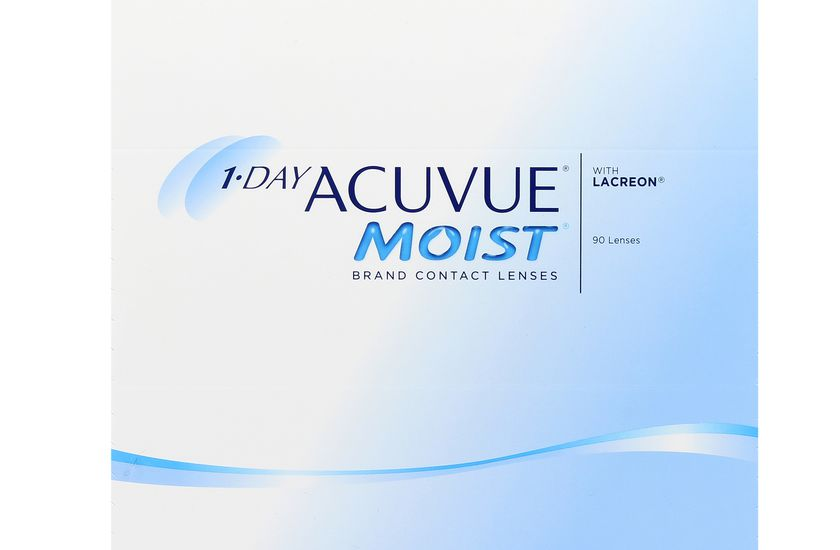 Lentilles de contact 1 Day Acuvue® Moist® 90L - vue de face